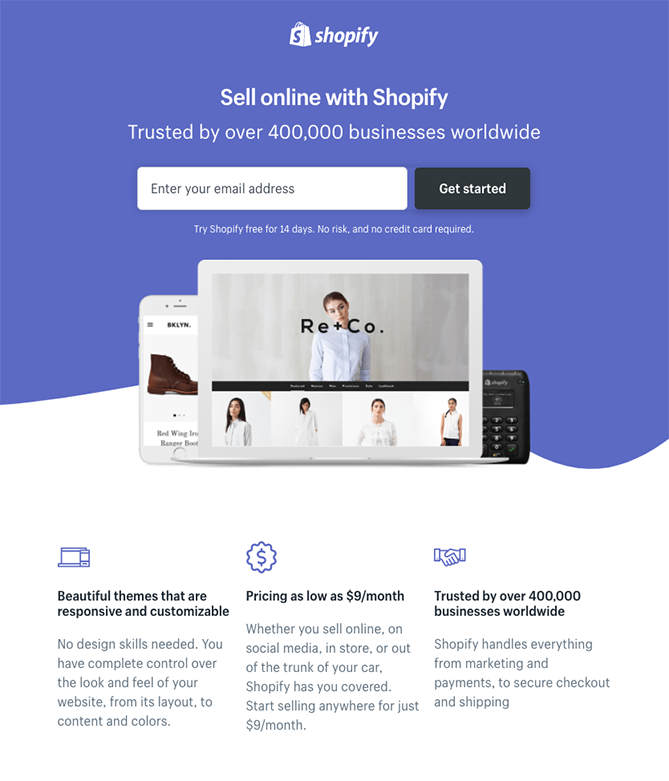 15 Examples of Fantastic Landing Page Designs in 2019
